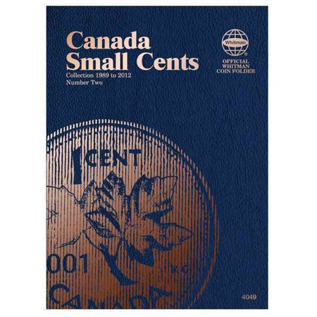 Canada Small Cents Coin Folder Number Two: Collection 1989 to 2012