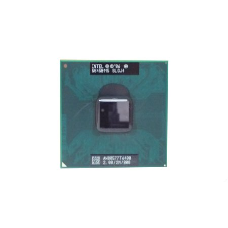 Refurbished Intel Core 2 Duo  T6400 2GHz PGA478 800MHz  SLGJ4 Duo 2 Ghz Processor
