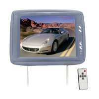 PYLE PL1104HRGR - Adjustable Headrest w/ Built-In 11.3'' TFT LCD Monitor and IR Transmitter