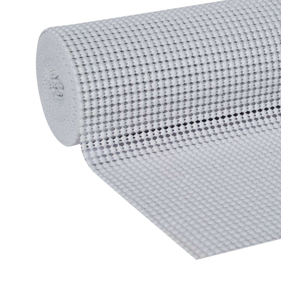 Duck Select Grip with Clorox 12 in. x 10 ft. shelf Liner, White