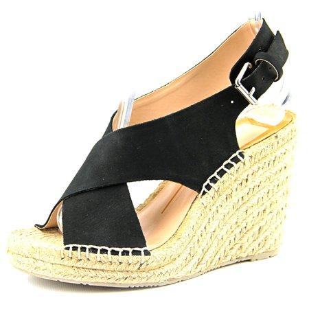 0e5ec5452442 Dolce Vita - Sovay Open Toe Leather Wedge Sandal - Walmart.com