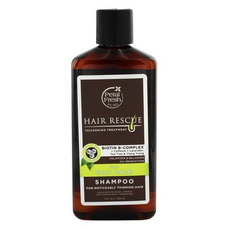 Treatment Oily Scalp - Petal Fresh - Hair Rescue Biotin B-Complex Ultimate Thickening Treatment Shampoo for Oily Hair - 12 fl. oz.