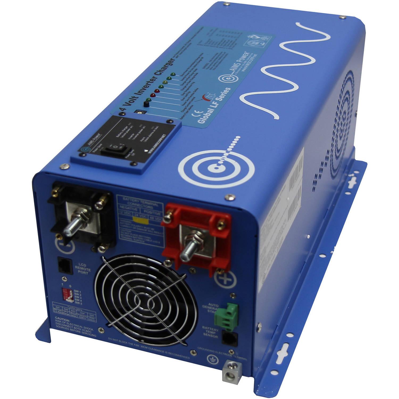 AIMS Power 2000W 24 Volt Pure Sine Inverter Charger