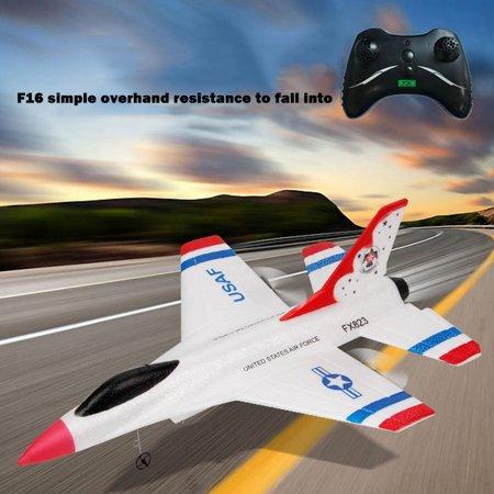 Tuscom FX-823 2.4G 2CH RC Airplane Glider Remote Control Plane Outdoor Aircraft Remote Control Arf Rc Airplane