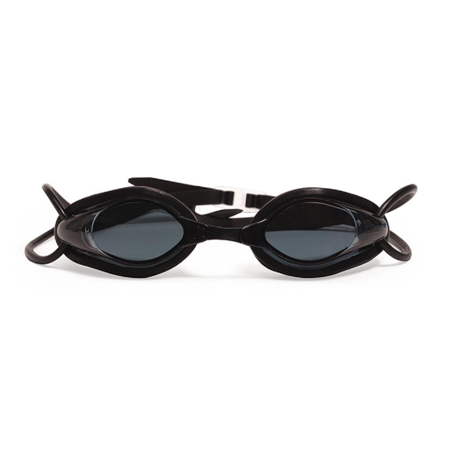 """5.5"""" Black Pro Swim Goggles Swimming Pool Accessory for Children by Pool Central"""