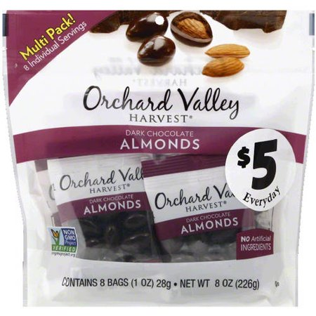 Orchard Valley  Orchard Valley Harvest Dark Chocolate Almond  8 Oz  Pack Of 8