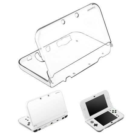 Nintendo New 3DS LL/3DS XL Case, by Insten TPU Rubber Candy Skin Clear Case Cover For Nintendo New 3DS LL/3DS