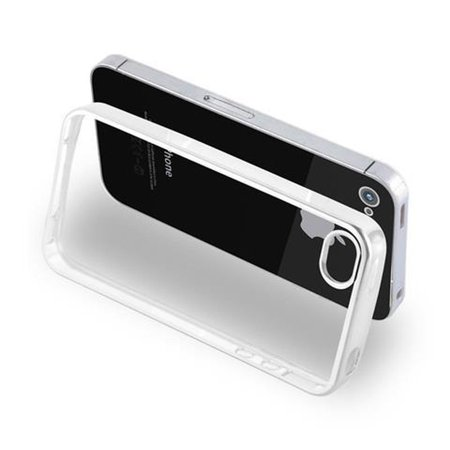 Cadorabo Case for Apple iPhone 4 / iPhone 4S cover - TPU Silicone ...