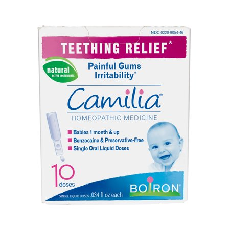 Boiron Camilia Baby Teething Relief Liquid Unit-Doses, 10 Ct
