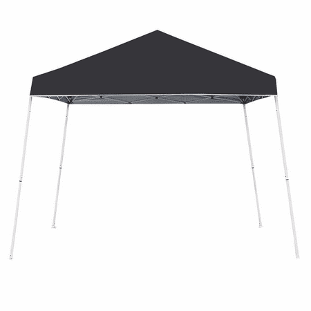 Z-Shade 10' x 10' Angled Leg Instant Shade Canopy Tent Portable Shelter, (Leg Outdoor Shade Canopy)