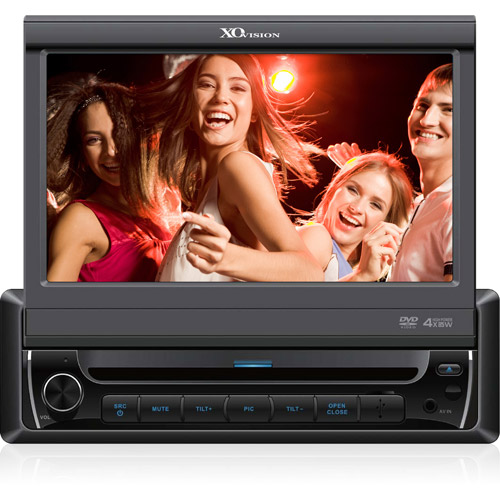"""XO Vision 7"""" In-Dash Touchscreen DVD Receiver w/ Bluetooth and USB and AV Inputs, X341BT"""