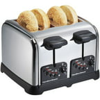 Hamilton Beach Classic Chrome 4-Slice Toaster, Chrome