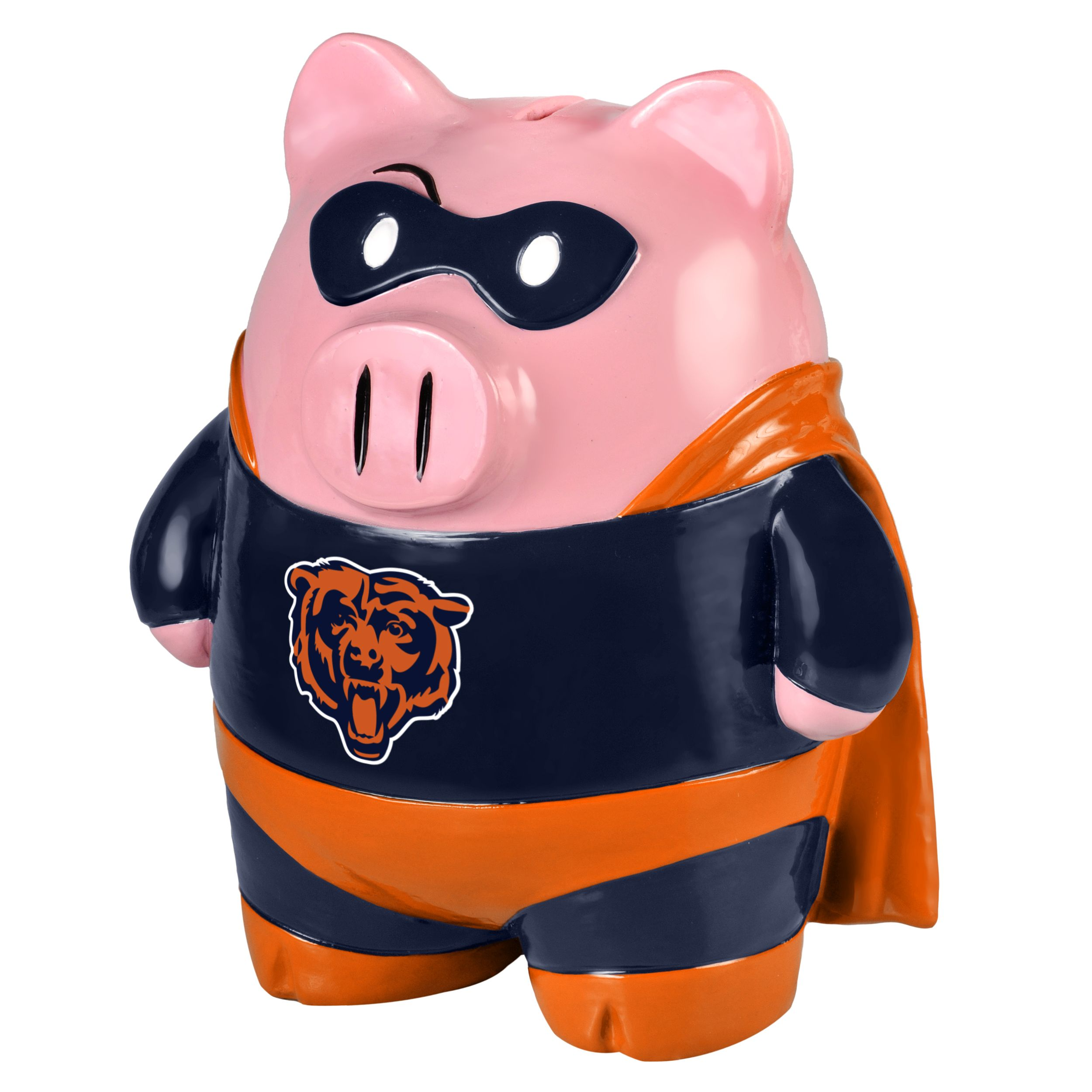 "Chicago Bears 8"" Large Stand Up Superhero Piggy Bank [Misc.] by Forever Collectibles"