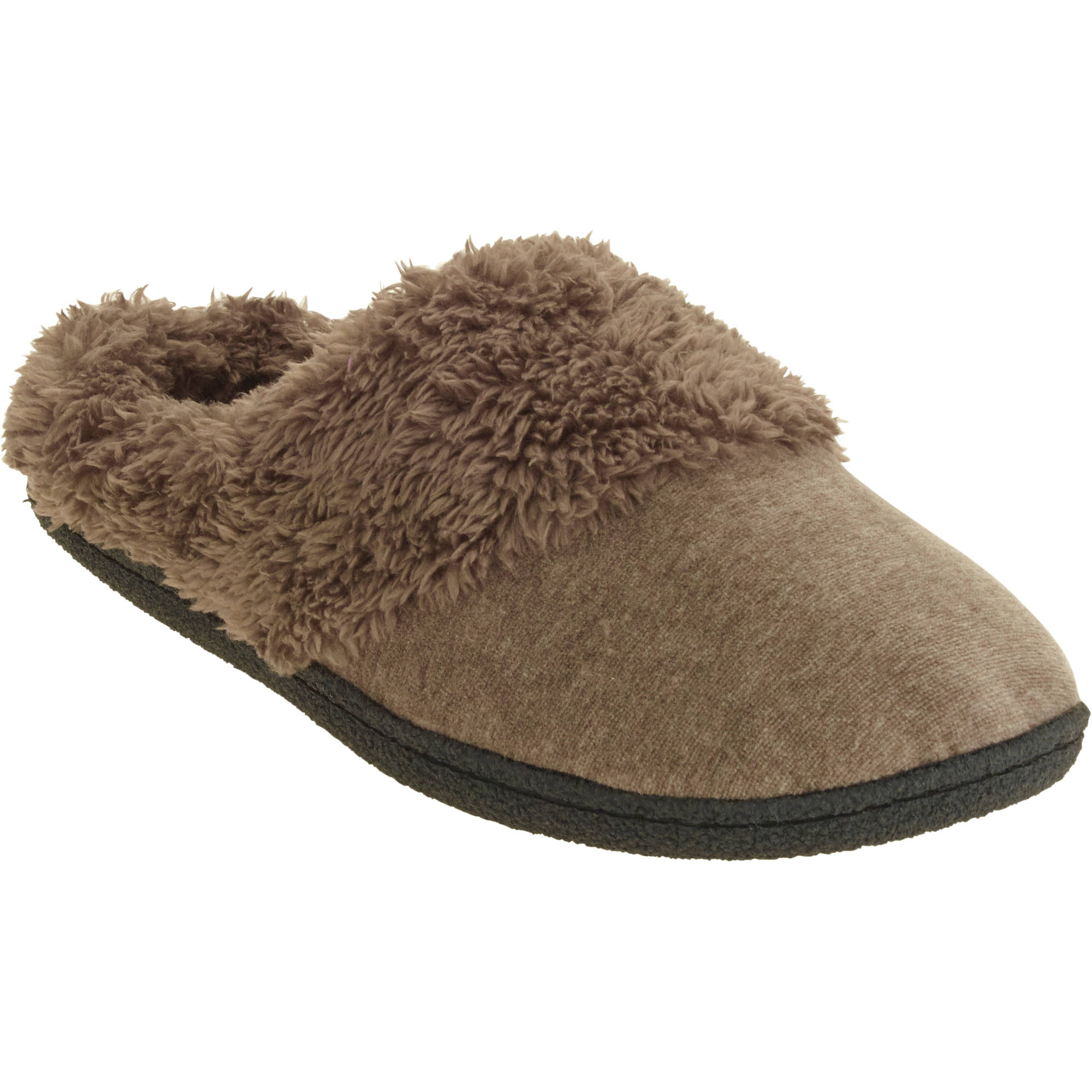 DF by Dearfoam Women's Velour Clog Slipper