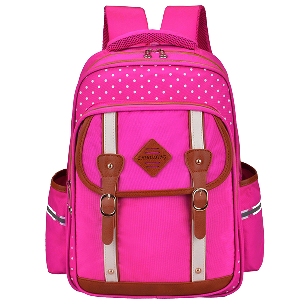 School Backpack, Coofit Fashionable Print Large Capacity Nylon Casual BookBag Travel Backpack for Pupils Students Boys Girls Kids