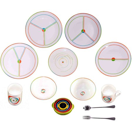 SlimPlate System Step Portion Control Weight Loss Kit, 15 pc