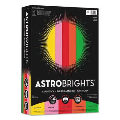 """Astrobrights Color Cardstock -""""Vintage"""" Assortment"""