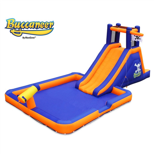 Blast Zone Buccaneer Pirate Water Slide