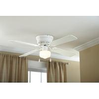 Deals on Mainstays 42-inch Hugger Metal Indoor Ceiling Fan