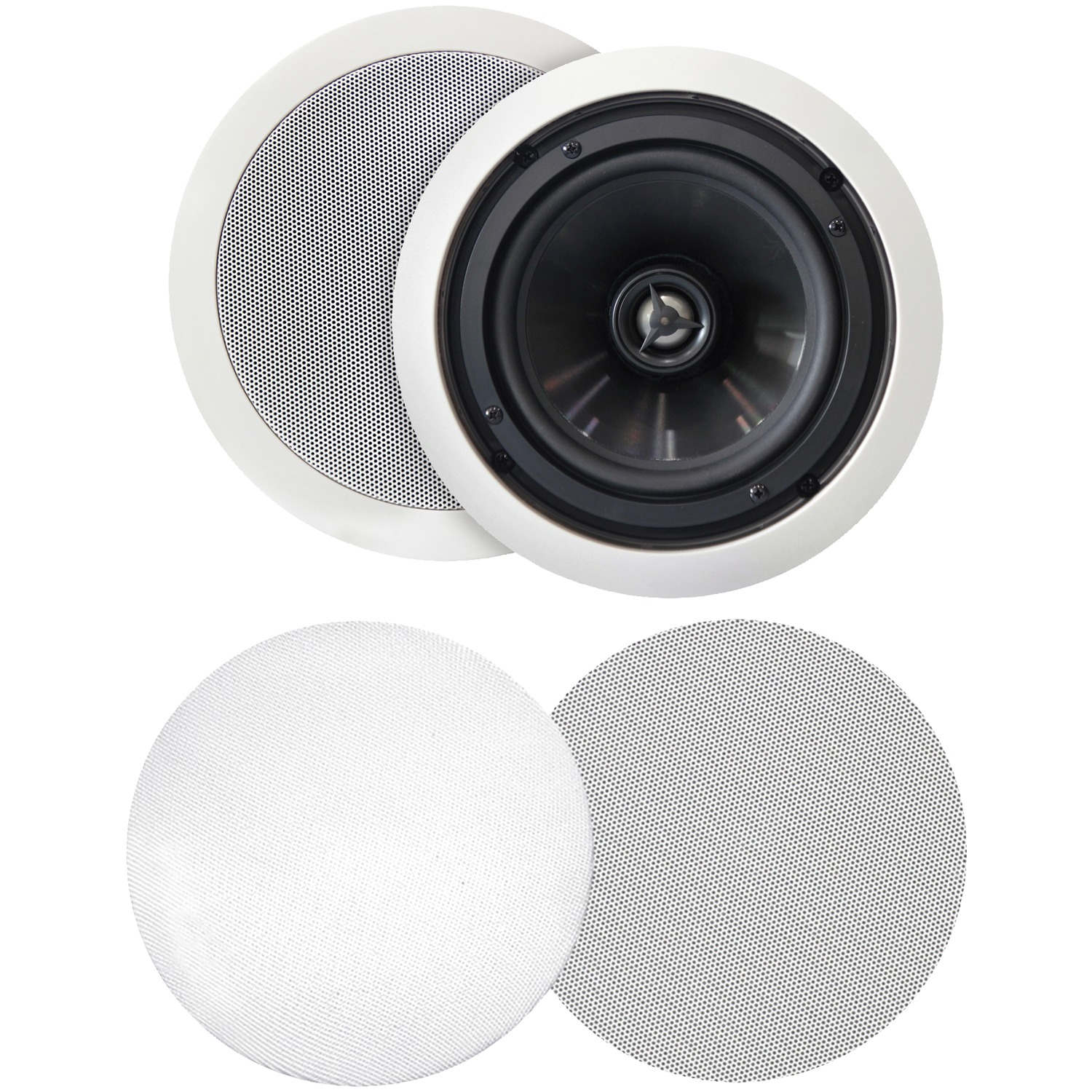 "Bic America MSRPRO6 6.5"" Muro Weather-Resistant Ceiling Speakers"