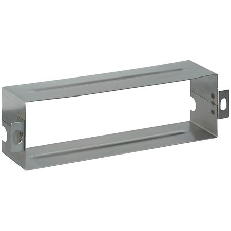 Stainless Steel Mail Slot Sleeve (National Hardware N264-960 Mail Slot Sleeve, Stainless Steel, 1-1/2