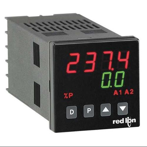 RED LION T4810010 Temp Controller, Relay Output AC/DC