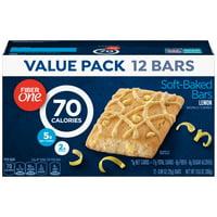 Fiber One 70 Calorie Soft-Baked Bar Lemon Bar 12 Fiber Bars 10.6 oz
