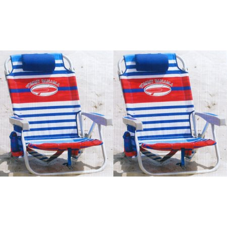Strange Tommy Bahama Backpack Chair Red White And Blue Stripes 2 Pack Caraccident5 Cool Chair Designs And Ideas Caraccident5Info