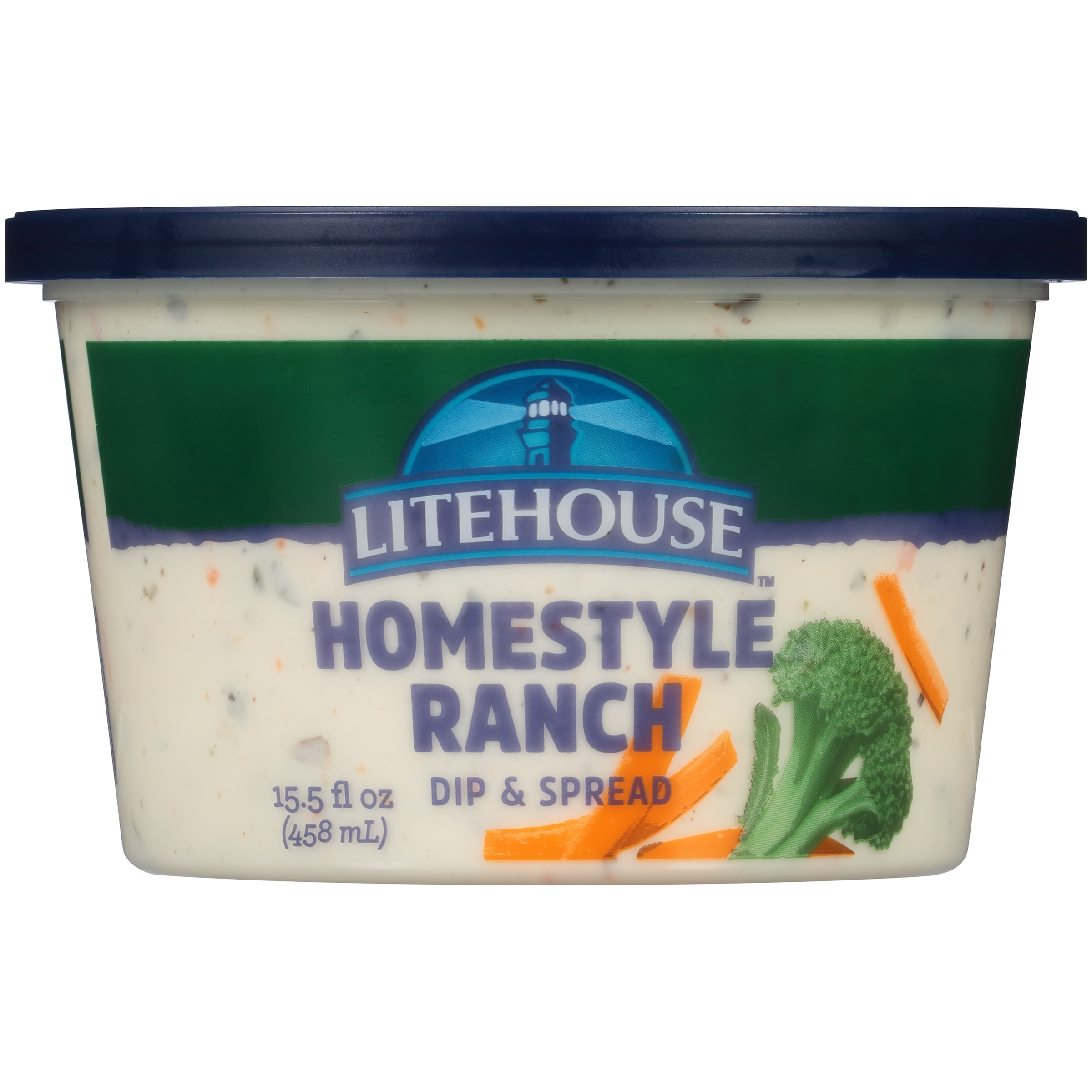 Litehouse Homestyle Ranch Veggie Dip 15.5 Fl Oz Tub