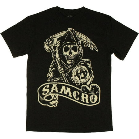 Sons of Anarchy SAMCRO Reaper T Shirt