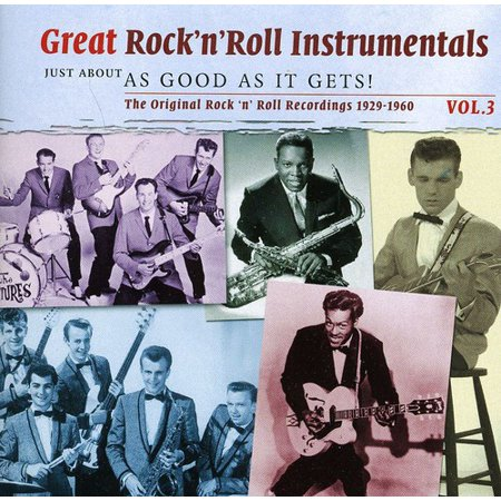 Vol. 3-Great Rock 'N' Roll Instrumentals - Best Halloween Instrumental Music
