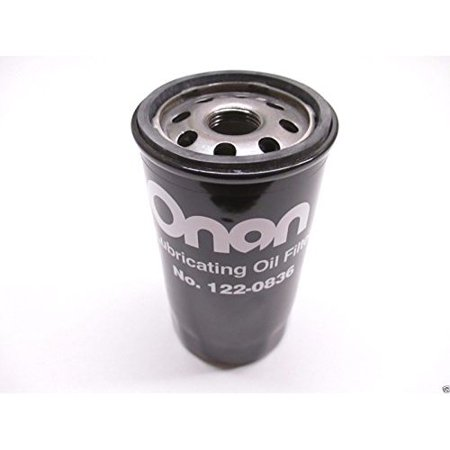 Genuine Onan Cummins 122-0836 Oil Filter Fits HGJAA HGJAB HGJAC Marquis OEM ,product_by: powered_by_moyer