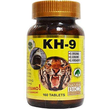 - Kh 9 Multivitamin Tablets Natural Bio Energetics Mineral Herb Amino Enzymes ( 160 Tablets)