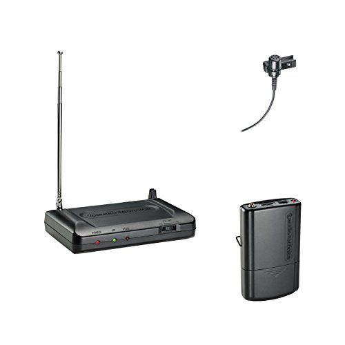 Audio-Technica ATR7100L VHF Wireless Lavalier Systems, T8 by Inc.