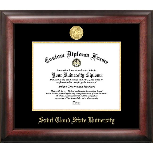 St.  Cloud State Gold Embossed Diploma Frame