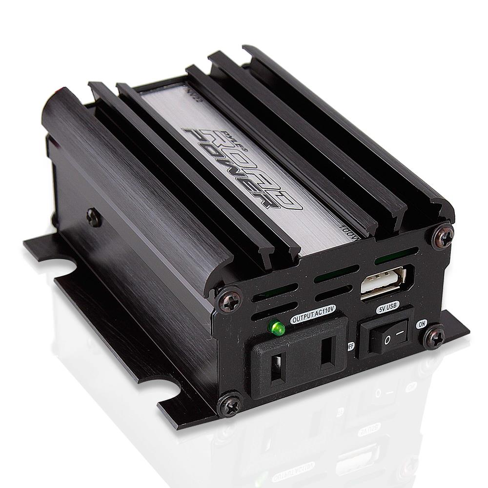 PYLE PINV22 - Plug In Car 100 Watt 12V DC to 115 Volt AC Power Inverter with USB Outlet
