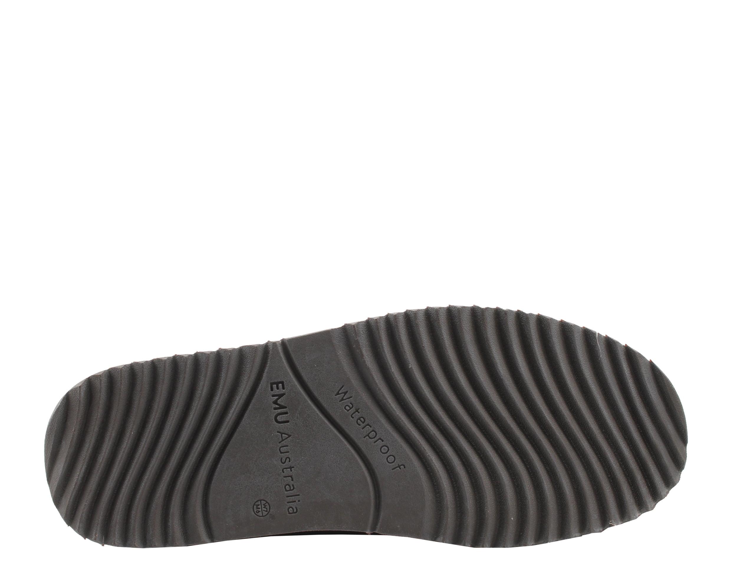 79a89b71e72 Emu Australia Paterson Lo Chocolate Waterproof Women's Boots W10771