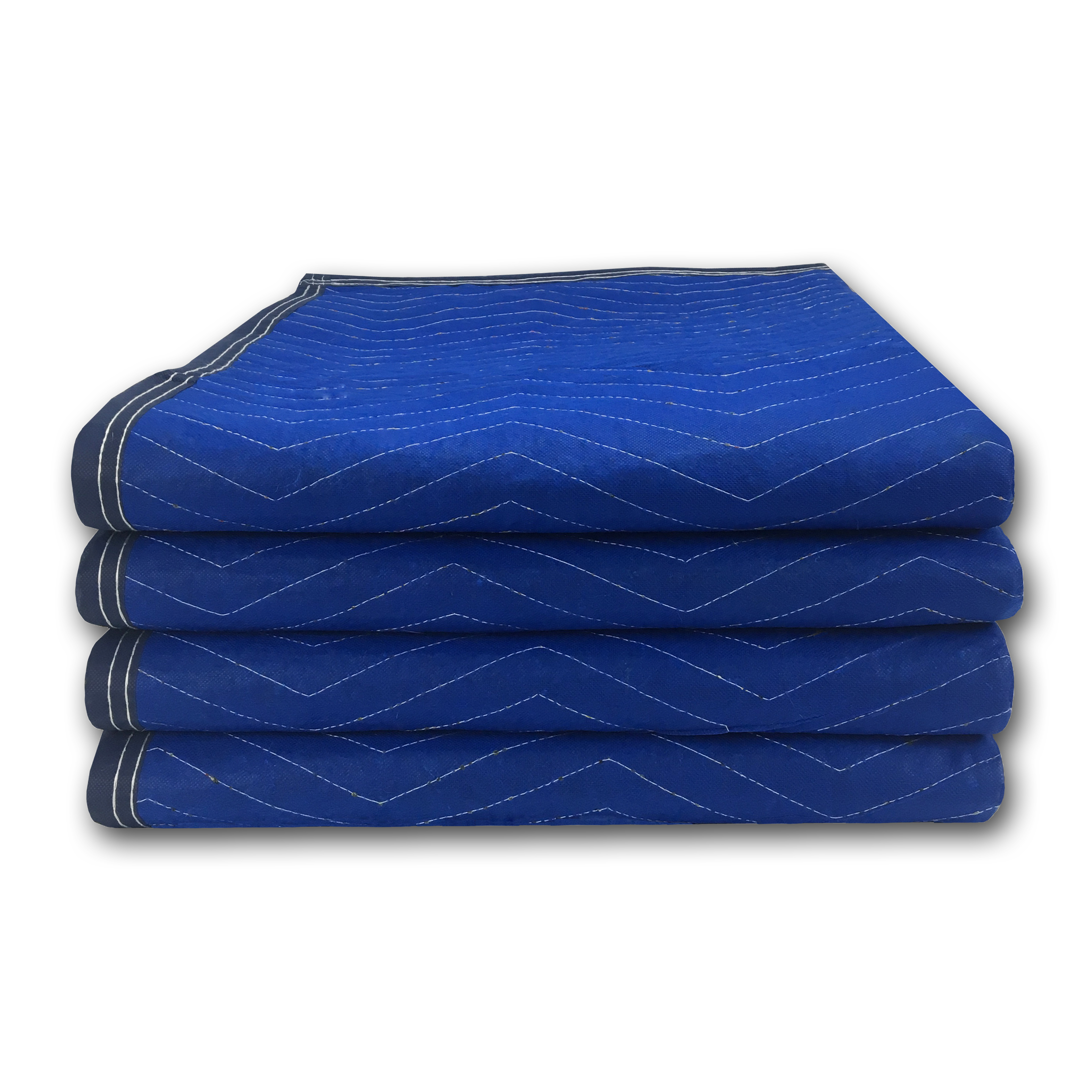Uboxes Economy Moving Blankets, 72 x 80 in, 3.58lbs each, 4 Pack