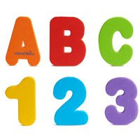 Munchkin Letters and Numbers Bath Toy, 36 Count