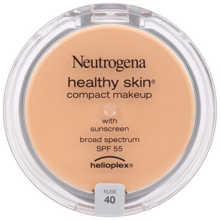 Neutrogena Healthy Skin Compact Makeup Broad Spectrum SPF 55 - Nude 40 - 1.6oz