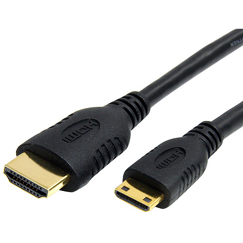 StarTech.com 6' High Speed HDMI Cable with Ethernet, HDMI to HDMI Mini
