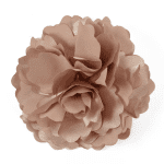 Expo Int'l Peony Fabric Flower Brooch and Hair Clip