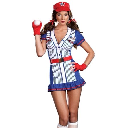 Sexy American Baseball Player Girl Halloween Costume