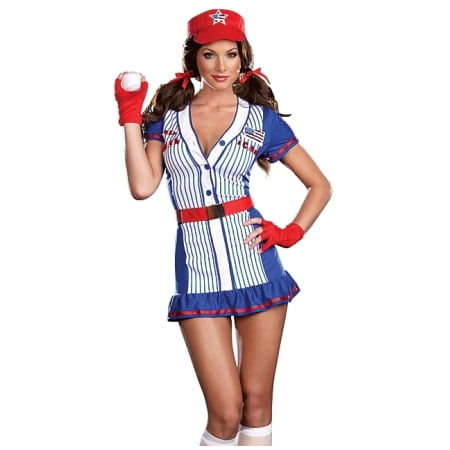 Sexy American Baseball Player Girl Halloween Costume for $<!---->