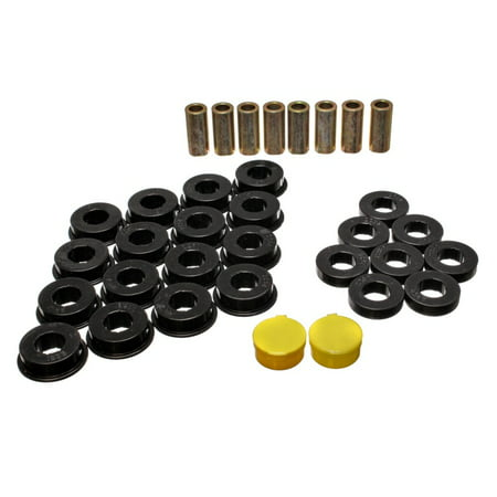 Energy Suspension 79-85 Mazda RX7 Black Rear Control Arm Bushing Set