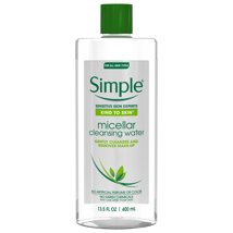 Facial Cleanser: Simple Kind to Skin Micellar Cleansing Water