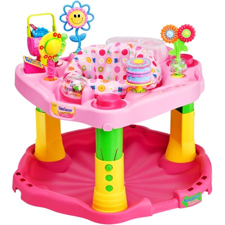 Evenflo Exersaucer Baby Activity Center 123 Tea For Me