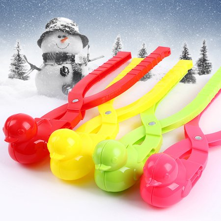 Obstce Duck Shape Snowball Maker Winter Snow Scoop Clip Sand Clay Mold Tool Kids - Duck Noise Maker