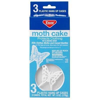 Moth Cake (Enoz Para Moth Cake, 2Pack)