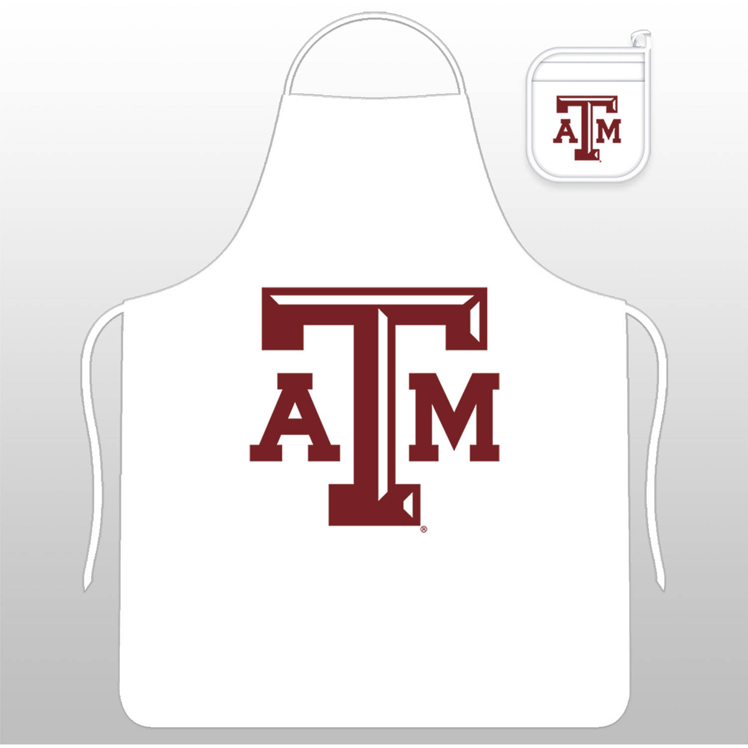 NCAA Texas A&M Tail Gate Kit with Apron and Mitt by Sports Coverage, Inc.